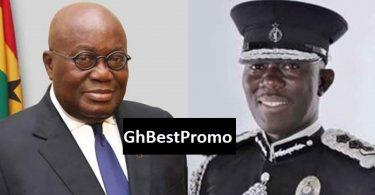George Akufo Addo and Akuffo Dampare IGP