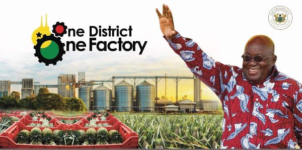 1 District 1 Factory