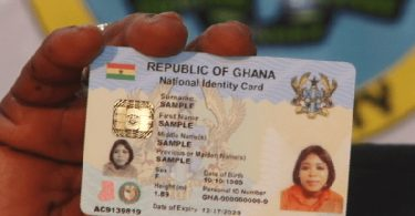 Ghana Card charges