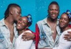Stonebwoy and wife Dr Louisa